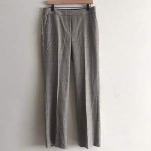 Talbots Woven Plaid Career Pants Size 6